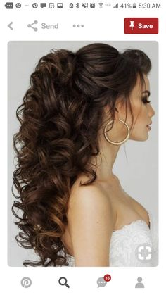 Trendy Swept-Back Wedding Hairstyles ❤ See more: www.weddingforwar… – Makeup Art Trendy Swept-Back Wedding Hairstyles ❤ See more: www.weddingforwar… Trendy Swept-Back Wedding Hairstyles ❤ See more: www. Wedding Hairstyles For Long Hair, Wedding Hair And Makeup, Pretty Hairstyles, Prom Hairstyles, Teenage Hairstyles, Hair Styles For Wedding, Hairstyle Ideas, Easy Hairstyles, Curly Hairstyles For Wedding
