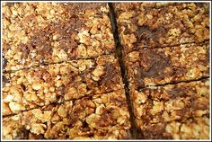 Granola Bars! - yes, yet another recipe to try even though i do love the one i use already!  **Made these and they are yummy and stick together great.  But next time will try to reduce the sugar.  There has to be a happy medium between healthy and tasty! :-)  Added pumpkin seeds, flax seed, cranberries and coconut and just a bit of chocolate for the add-ins.