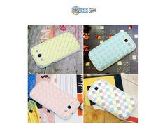 Cube Jelly Phonecase for galaxy s3. soft case.