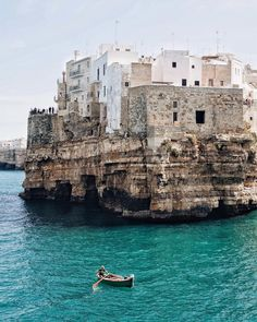 """polychelles: """"Polignano a Mare by Marlene Lee """""""