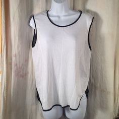 Rag & Bone White and Black Top Sheer Panels S EUC Beautiful top, has a very small smudge from lipstick. Haven't tried to remove. No other issues beautiful top, split at the sides rag & bone Tops Blouses