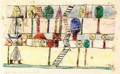 Paul Klee - Die Dorfverruckte, 1920