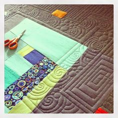 Krista Withers Quilting: Hands on Longarm classes at Island Quilter on Vashon Island and a little eye candy!
