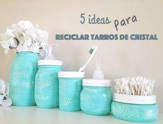 5 originales ideas para reciclar tarros de cristal