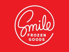 Smile Frozen Goods Logo