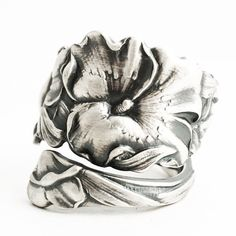 Hey, I found this really awesome Etsy listing at https://www.etsy.com/listing/487053147/sego-lily-ring-sterling-silver-spoon
