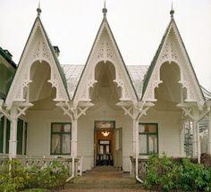 "Villa Sjötorp, Ljungskile (sekelskifteshus). Swedish ""snickarglädje"" Wow!"