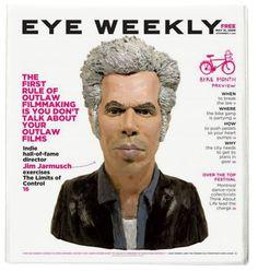 A selection of work from Eye Weekly - Bradley J. Reinhardt Design
