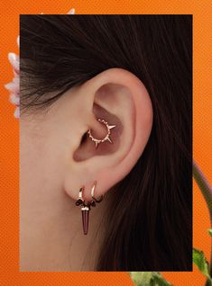 """The """"Snug"""" Will Be 2018's Biggest Piercing Trend #refinery29"""