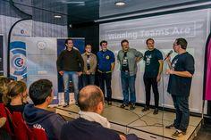 Seamply, l'équipe gagnante du Startup Weekend Saint-Brieuc 2015.