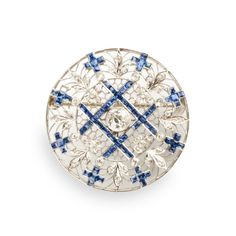 Art Deco Platinum, Diamond, & Sapphire Brooch. Invaluable is the world's largest marketplace for art, antiques, and collectibles.