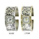Geneva Watches, Square Watch, Bangles, Texture, Silver, Accessories, Bracelets, Surface Finish, Bracelet