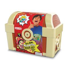 Ryan's World Mega Mystery Treasure Chest — Target Exclusive Toy Cars For Kids, Best Kids Toys, Toys For Girls, Cool Girl Toys, Children Toys, Baby Girls, Interactive Baby Dolls, Ryan Toys, Disney Cars Toys