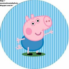 Kit festa George Pig - Montando Minha Festa Pitch some sort of wedding that is Tarta George Pig, Cumple George Pig, George Pig Cake, Peppa E George, George Pig Party, Abecedario Baby Shower, Familia Peppa Pig, Peppa Pig Printables, Dinosaur Printables