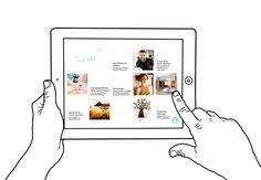 MINT - Digital Branding by moodley brand identity , via Behance