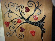 Melancholy by Joyce Monteiro - broken pieces The Tree of Life