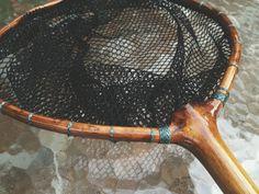 Handcrafted Ash Fishing Net (Tenkara)  Fly fishing