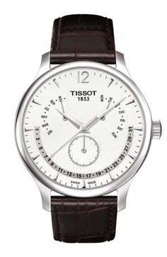 Tissot Tradition Men's Silver Quartz Classic Watch