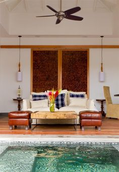 Villa with private pool at Ka'ana Boutique Resort, Belize. #honeymoon #xoBelize