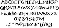 Image for KBWarmHerUp font