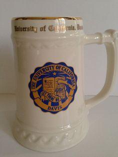 University of California Davis Vintage Beer Stein by LaDolfina, $25.00