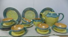 Vintage 21 Pc Handpainted Nippon Made in Japan by PfantasticPfinds, $69.99