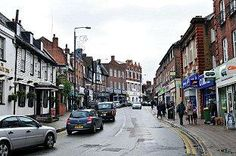 High Street of Beckenham, South London. We stayed here in 2002 with Aunty Glenda, Uncle Robert, Nan  Pop.