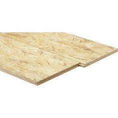Dalle osb 3 3 plis épicéa naturel, Ep.18 mm L.250 x l.67.50 cm
