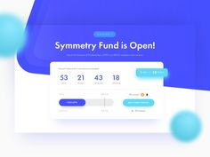 New ICO Landing Page – 01.Hero Section