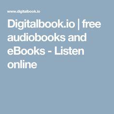 Digitalbook.io | free audiobooks and eBooks - Listen online
