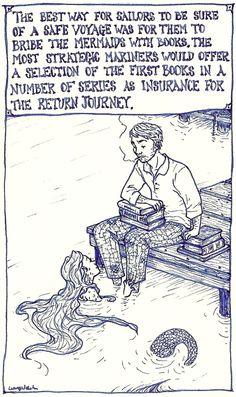 ~ Mermaids & Books - Strategic Mariners