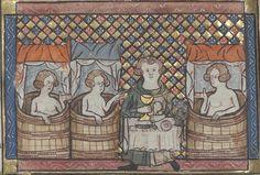 Bibliothèque de l'Arsenal, 3525, f.84v. Watriquet de Couvin, Dits. 14th century