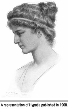 Hypatia of Alexandria, was a gifted female philosopher, astronomer and mathematician who flourished in Roman Egypt during Arcadius' reign. Description from americanhumanist.org. I searched for this on bing.com/images