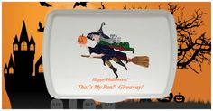 Personalized Artist Series Witch Design Pan & Lid! Giveaway currently happening! Enter now to win!