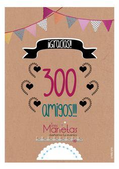 300 amigos :)