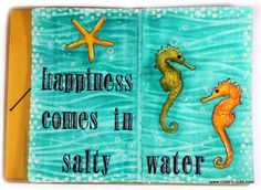 Art Journal layout : salty water                                                                                                                                                                                 More