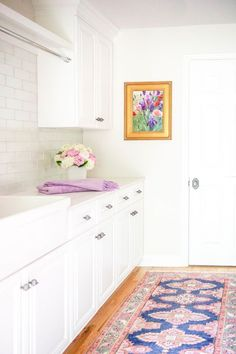 """Visit our internet site for additional relevant information on """"laundry room storage diy"""". It is an exceptional location for more information. Decor, Functional Design, Room Storage Diy, Brown Sofa Decor, White Cabinetry, Patterned Floor Tiles, Home Decor, Room, Laundry Room Storage"""