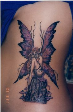Mystical Fairy Tattoo Designs