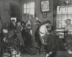 U.S. Slum Life In New York City During the Nineteenth Century's Gilded Age, 1880s