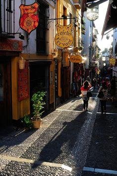 Calles de #Granada