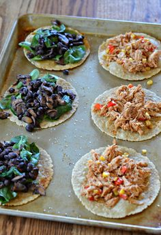 Slow Cooker BBQ Chicken Tacos | mountainmamacooks.com #TacoTuesday