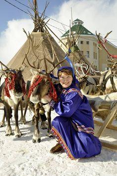 Khanty woman, Khanty