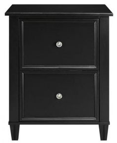 Martha Stewart Living™ Larsson File Cabinet - File Cabinets - Home Office Furniture - Furniture   HomeDecorators.com
