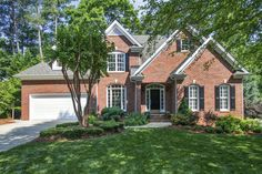 Screened Porch & Privacy in Crooked Creek. Completely revamped, custom-built home boasts newly refinished hardwoods, new interior and exterior paint, granite, stainless appliances, fixtures, carpet and more. Main Floor Owner Suite. Spacious secondary bedrooms, loft and vaulted family room plus separate living/study. Call Betsy today at 919.622.1060 | SOLD by Simmons Realty Group | Keller Williams Realty Cary, North Carolina | www.betsysimmons.com