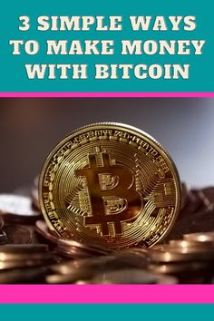 You can make money from Bitcoin by buying Bitcoin and holding for a long period of time. This is one of the basic and easiest ways due to the volatile nature of the cryptocurrency. #bitcointrading #bitcoinnews #cryptocurrency #cryptocurrencytrading