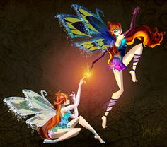 Light vs Dark - The Winx Club Fairies Fan Art (36833943) - Fanpop