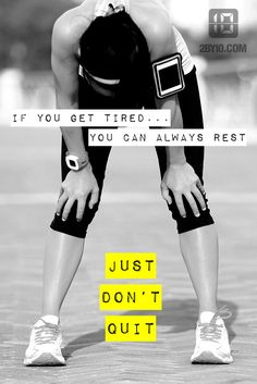Tired does not = quit. #health #fitness #fit #gym #dedication #fitspo #workout #motivation #health #healthy #strong #determination #exercise
