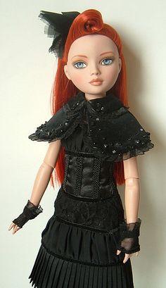 Ellowyne Wilde - 'Nevermore' by dolli*knitrix, via Flickr