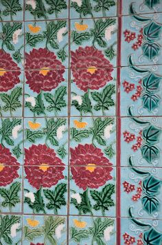 Peranakan tiles and Shophouse embellishments in Singapore |Living in Sin