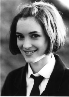 Winona Ryder - this is one of those pics of Winona Ryder that looks so much like my sister, it's creepy.